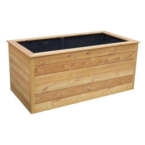 hochbeet l rchenholz bausatz. Black Bedroom Furniture Sets. Home Design Ideas